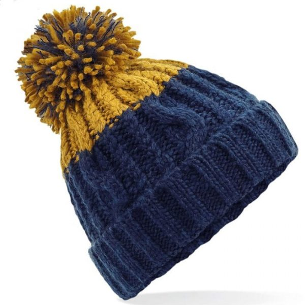mustard and Navy bluew