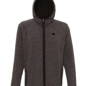 Hooded Jacket CHARCOAL BLACK FLECK
