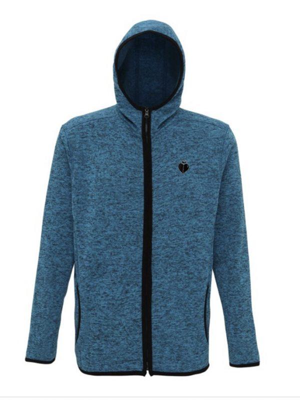 Hooded Jacket SAPPHIRE BLACK FLECK