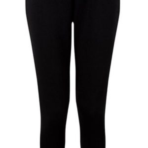 Emily Fitted Joggers Black