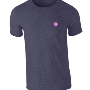 Rango T Shirt Aubergine With Pink Logo