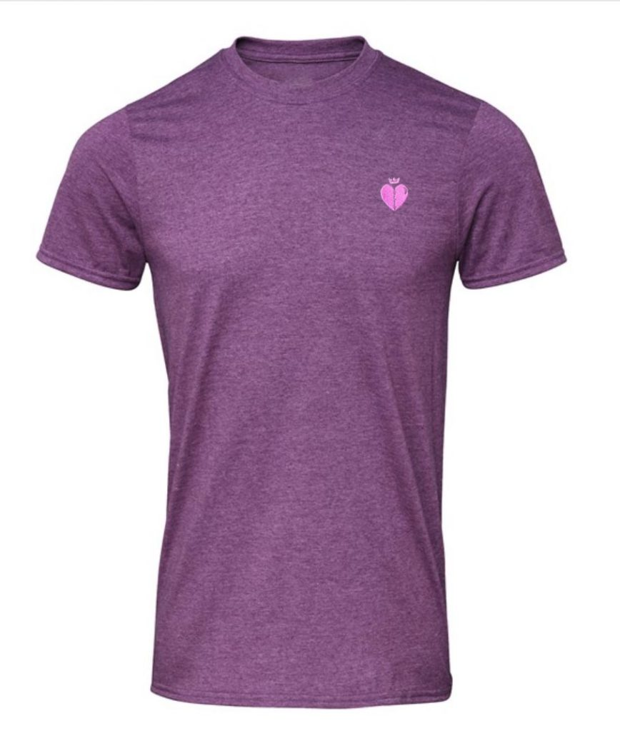 Rango T Shirt Purple With Pink Logo