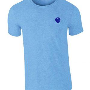 Rango T Shire Sapphire Blue With Navy Logo